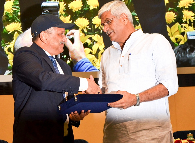 PFC RECEIVES SWACHH BHARAT AWARD 2019