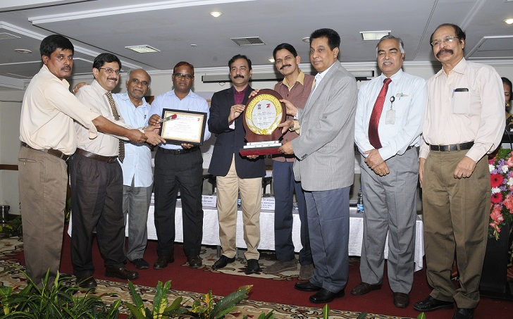 KIOCL Gets Rajbhasha Excellence Award