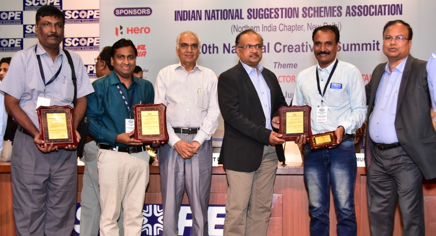 RINL-VSP Employees brought Laurels at National Level
