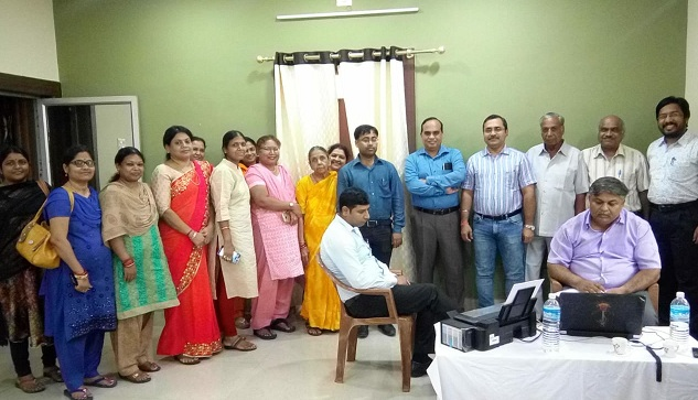 A Bone Density Testing Camp organized by WIPS in MCL