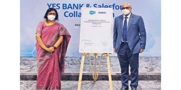 YES Bank collaborates with Salesforce