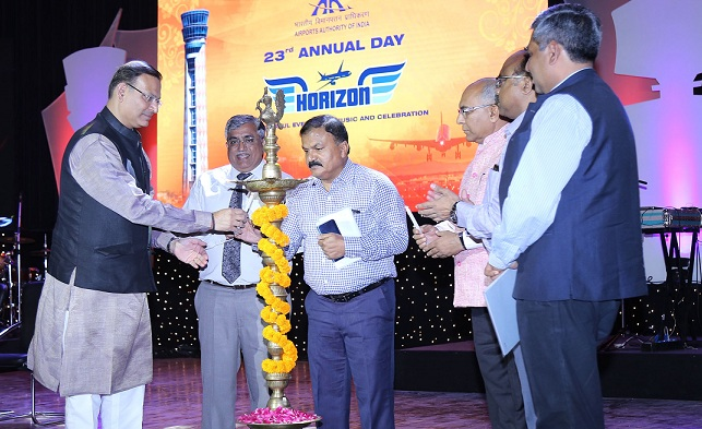Airport director aurangabad felicitated for expanding domestic flight connectivity