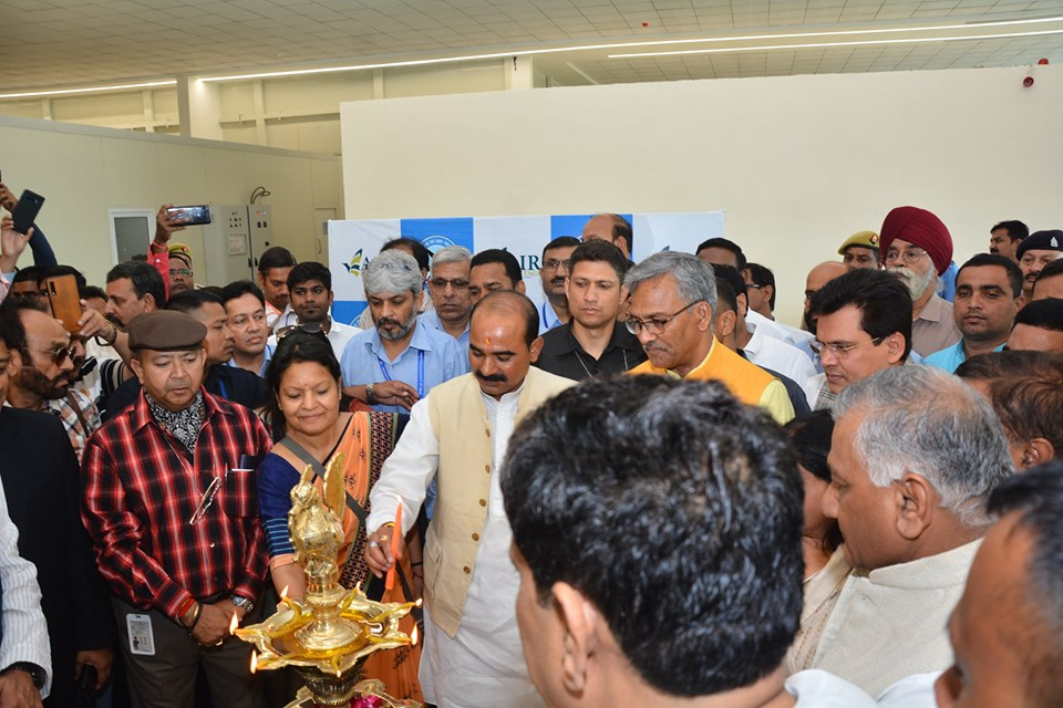 AAI Hindon Airport has launched its commercial flight ops today