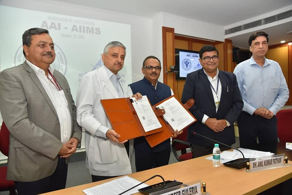 AAI signs MoU with AIIMS