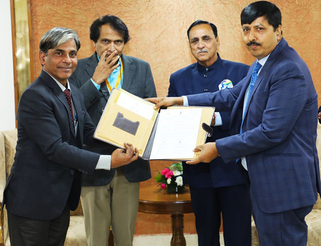 AAI signed an MoU for the Development of a new Greenfield Airport at Dholera