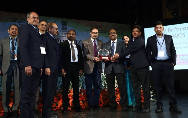 AAI Won Best Performance Award Among PSUs in Electronic Tendering