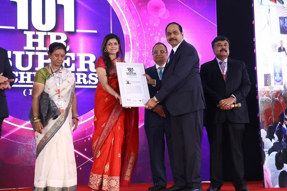 Ms Adika Ratna Sekhar director received the HR leadership award