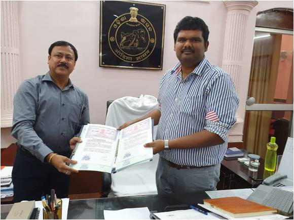 NBCC signed MoU with District Mineral Foundation
