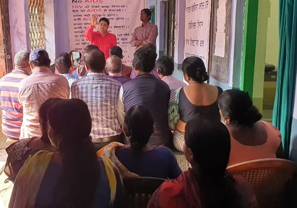 BCCL organised AIDS awareness programs