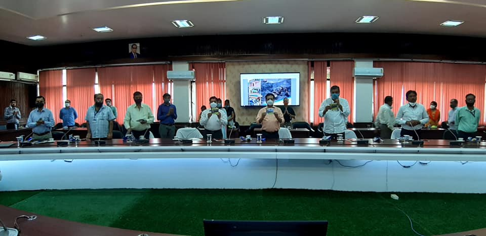Hindi Diwas Celebrates In Bharat Cooking Coal Limited