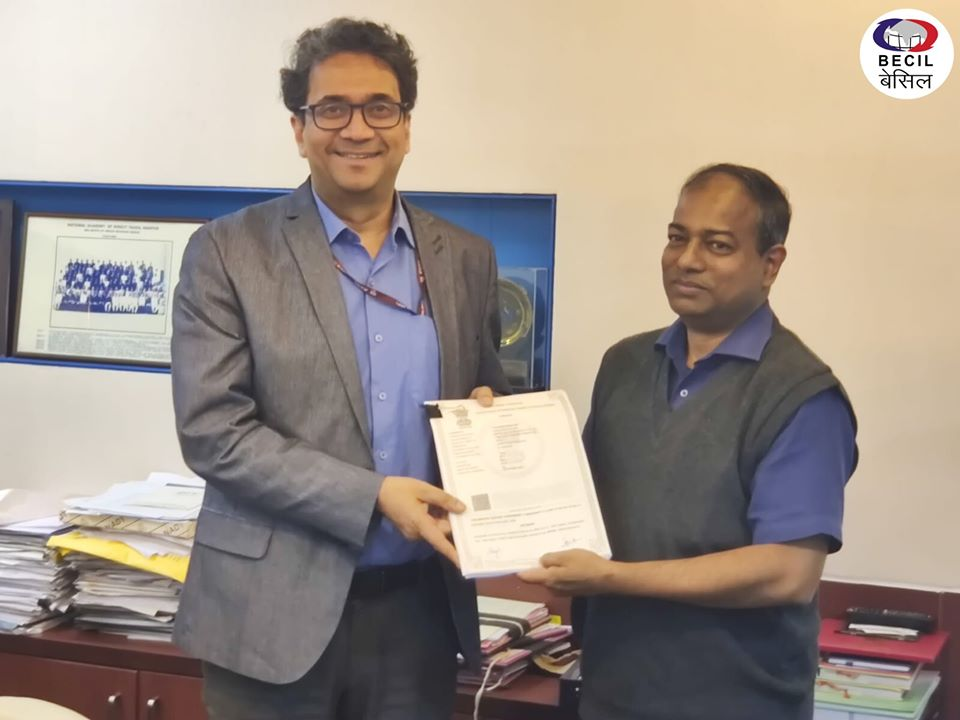 BECIL Signed Agreement Between Department Of Income Tax