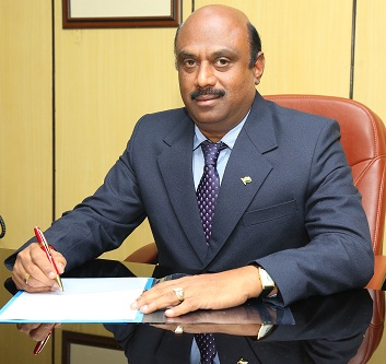 Shri R Panneer Selvam has assumed charge as director BEML