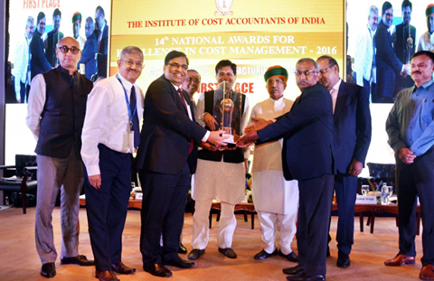 BHEL wins ICAI National Award