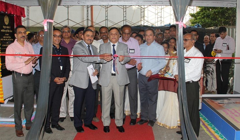 Blasting and Painting Chamber Inaugurated at MDL