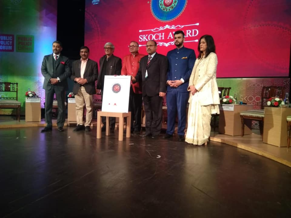 Bharat Petroleum receives the prestigious SKOCH orders of merit award