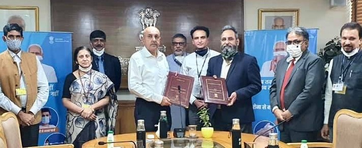 MoPNG signs MoU with Bharat Petroleum for the financial year 2020-21