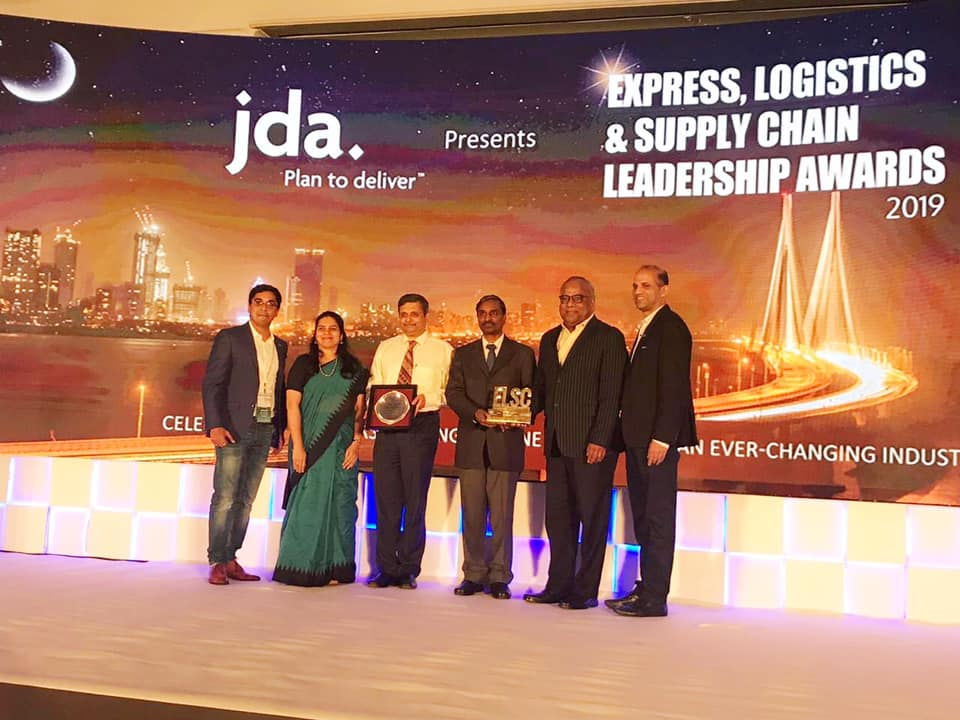 BPCL receives the Express Logistics and Supply Chain Leadership Award