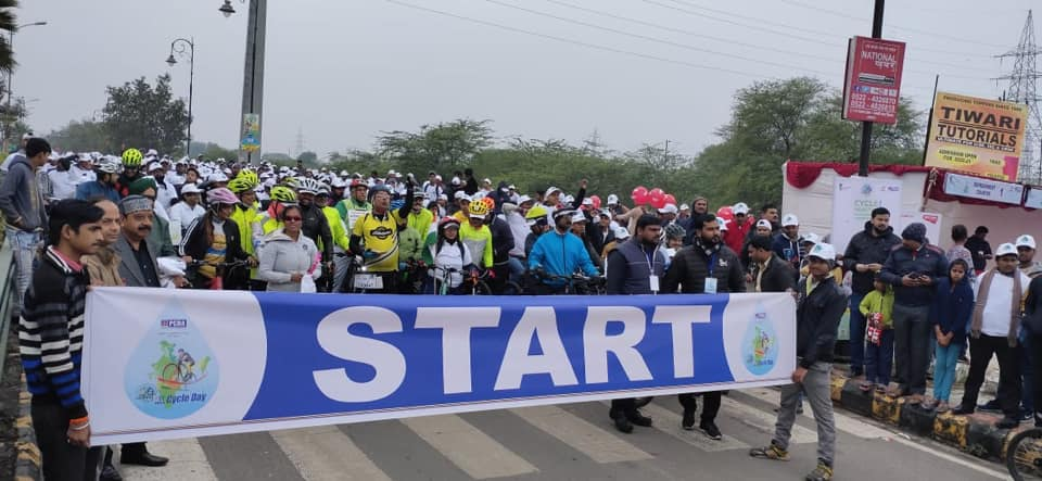 BPCL Organises Saksham Cyclothon At Lucknow