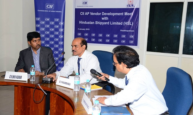 CII AP Vendor Meet Programme Organised at HSL