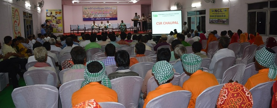 CIL organised CSR Chaupal in NCL