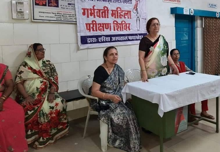 CIL organised free medical camp for expectant mothers