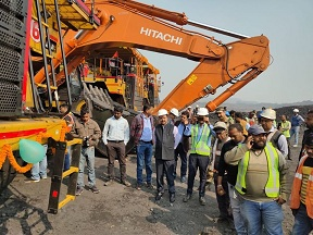 CIL commissions new dumpers and shovel in BCCL