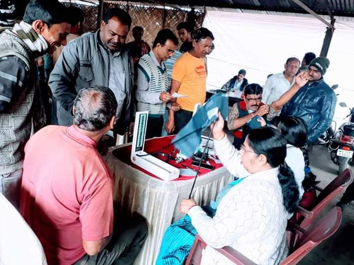 CIL organised a free health check up camp