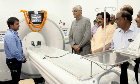 SECL intalls CT Scan at AMBIKAPUR MEDICAL COLLEGE HOSPITAL
