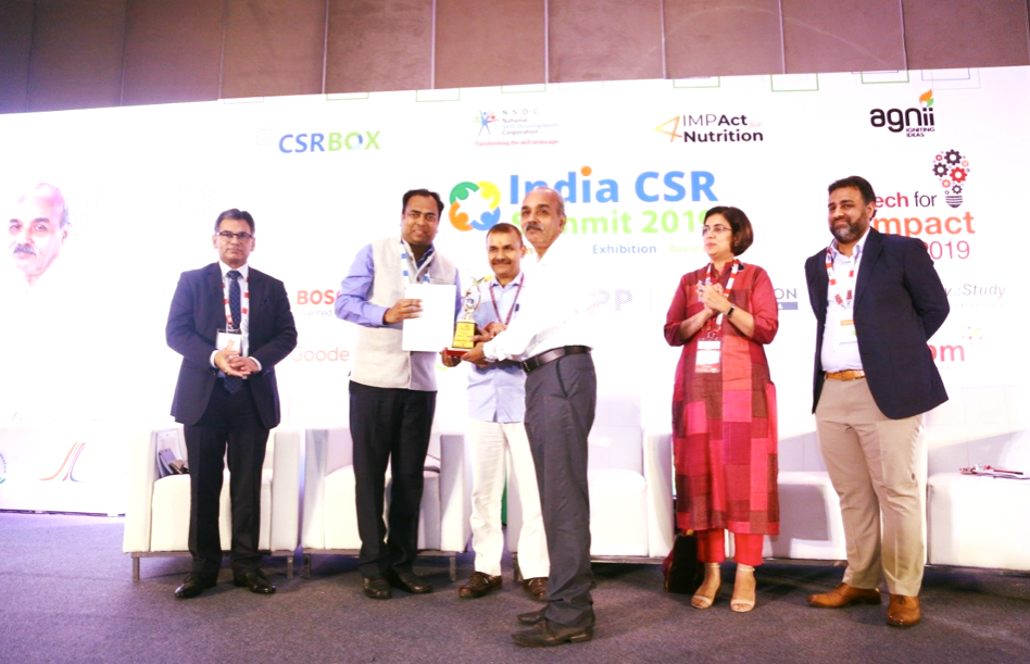 CIL bags CSR AWARD for Rural Development and Infrastructure