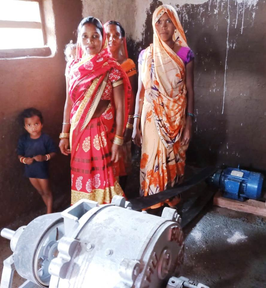 NCL donated a flour mill to a womens