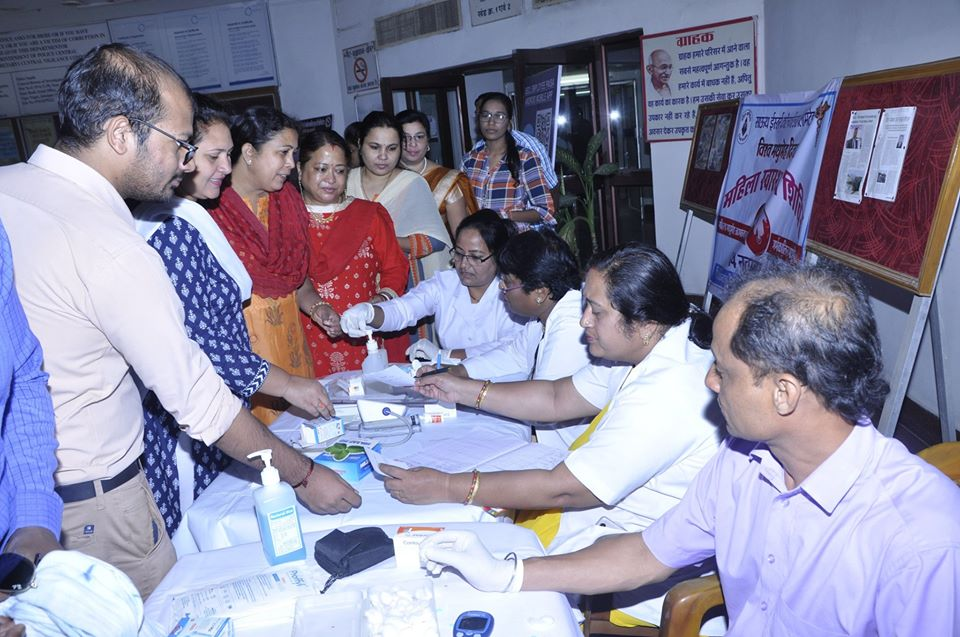CIL organised a free diabetes check up camp