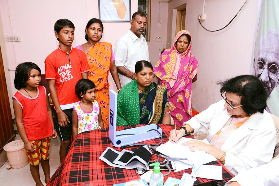 Coal India Ltd organised a Free Health Check-up Camp