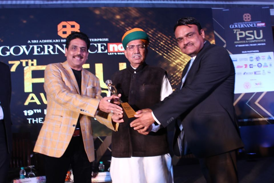 CIL Bagged The Governance Now 7th PSU Awards