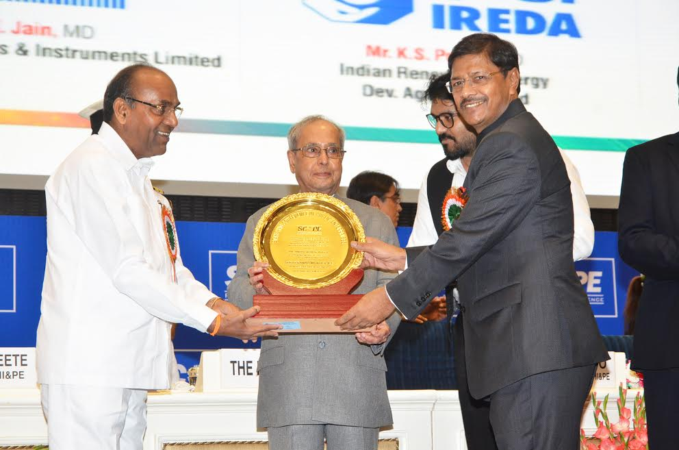 CMD of NBCC conferred SCOPE Leadership Excellence Award