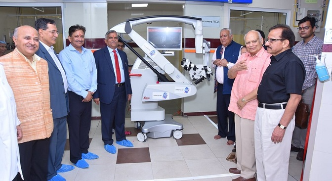 PFC Provides Surgical Operating Microscope to BMCHRC Jaipur