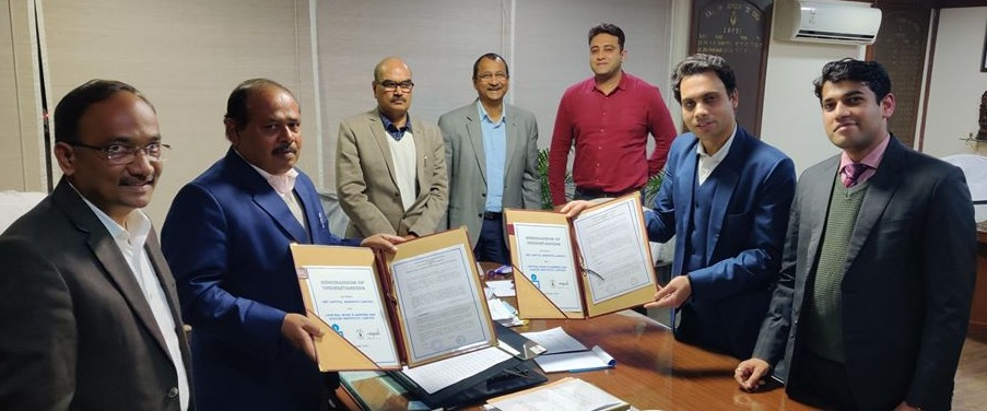 CMPDI signed MoU SBI Capital Markets Limited