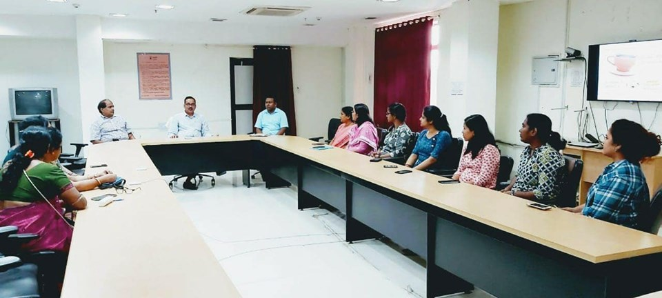 CMPDI organised Chai par charcha with female employees of RI-VII