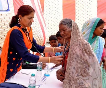 CIL organised a free health camp in Kohrol