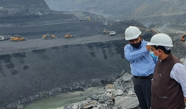 Coal Minister Pralhad Joshi reviews production & off take of CCL and BCCL