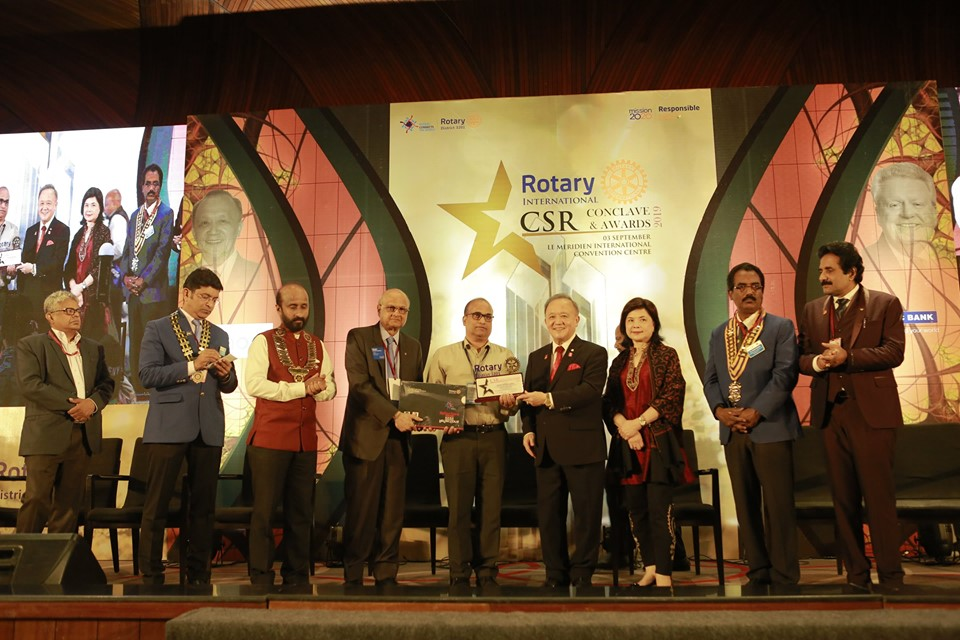 Cochin Shipyard Limited conferred the CSR excellence awards 2019