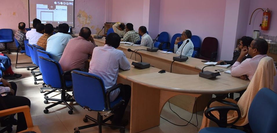 Training on e-office held at CWC