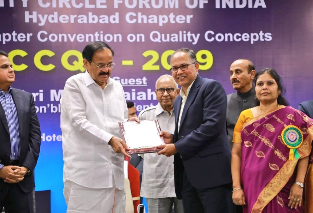 NMDC Best Supporting Organization to Quality Circle Movement