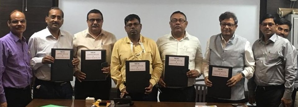 DFCCIL singed MoU with Construction of Road Over Bridges ROB