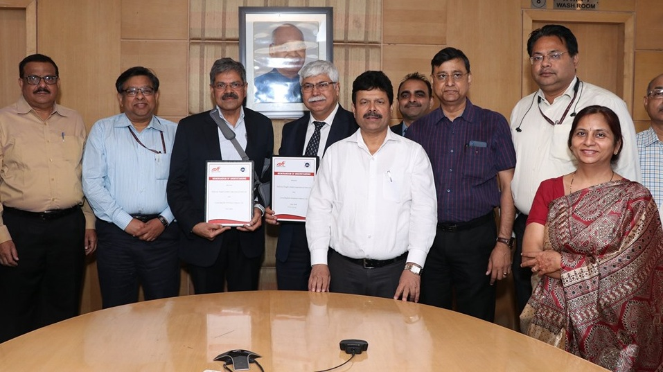 DFCCIL signed MoU with CRWCL