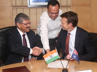 DFCCIL inked a MoU with UOW