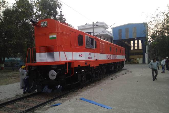 Indian Railways Converted 12 Hp Diesel Loco in to Electric Loco