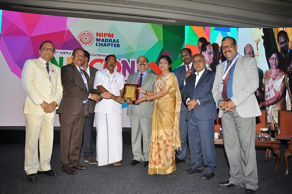 NLCIL with prestigious NIPM RATNA Award and presented National Award for Best HR Practices 2017
