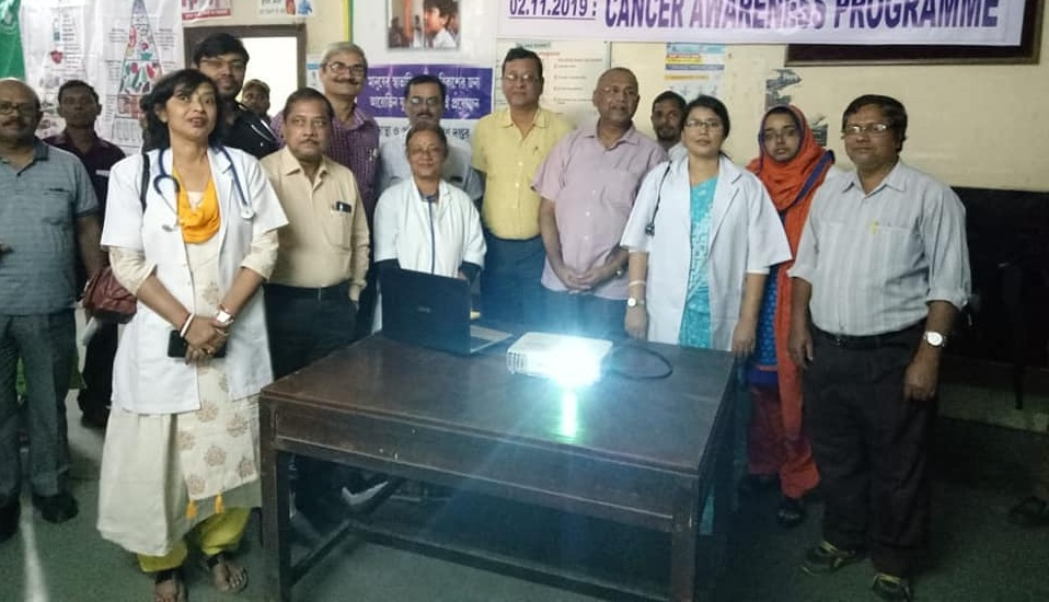 World Diabetes Day celebration at Medical OPD at Central Hospital Kalla