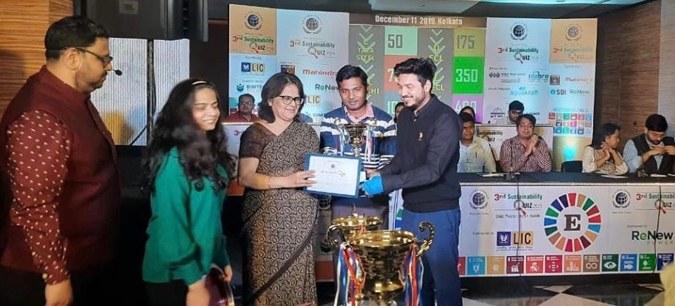 ECL awarded 2nd runner up in 3rd sustainability quiz