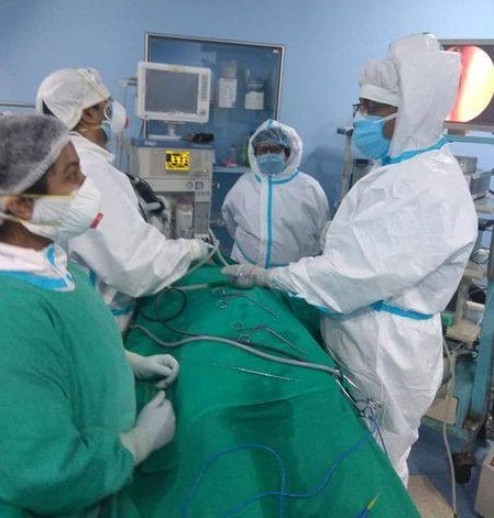 Endoscopic ent surgery successfully conducted at ECL hospital